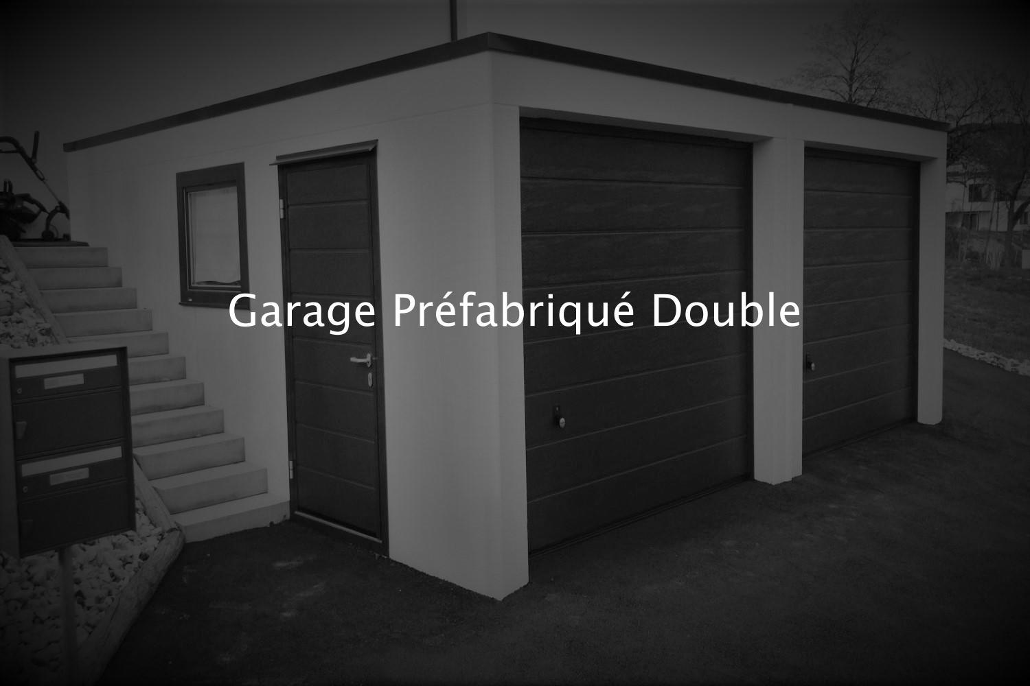 garage pr fabriqu b ton monobloc et carports pr fabriqu s. Black Bedroom Furniture Sets. Home Design Ideas