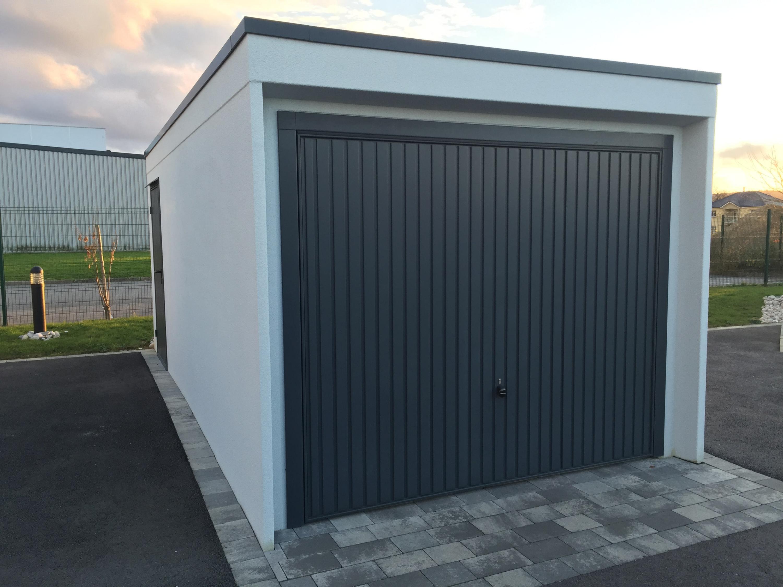 Garage Beton Prefabrique : Modèles et dimensions des garages préfabriqués monobloc