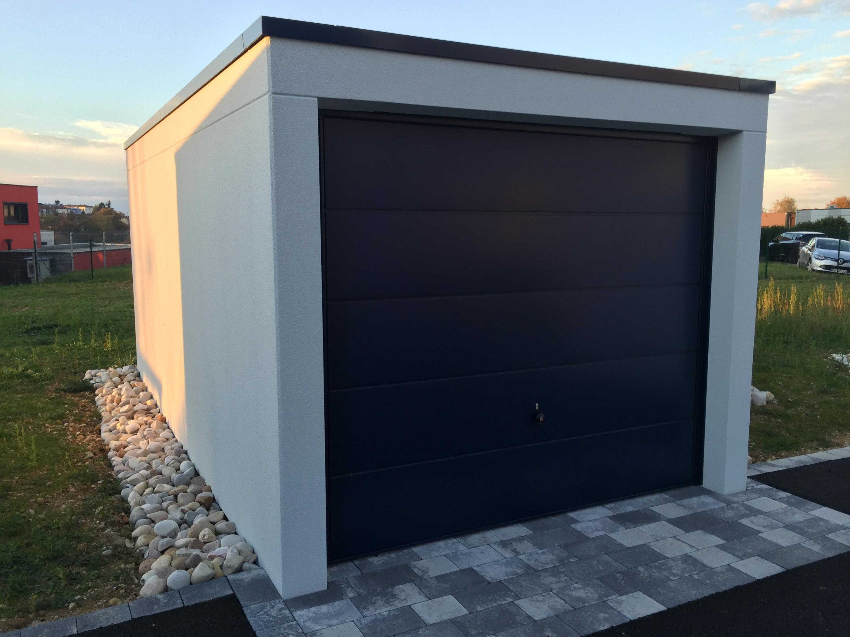 gamme de garages pr fabriqu s en b ton. Black Bedroom Furniture Sets. Home Design Ideas