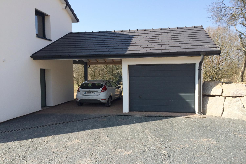 Garage Beton Prefabrique : Garage préfabriqué béton monobloc et carports préfabriqués
